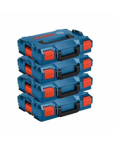 BOSCH Pack 4 Cajas apilables L-Boxx 102