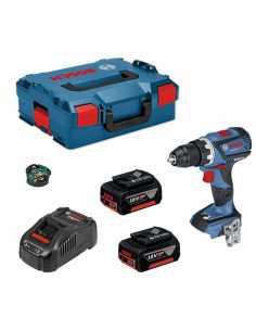 BOSCH GSB 18 V-60C (2 x 5,0 Ah + GAL1880CV + L-Boxx 136)  + Module Bluetooth GCY 30-4