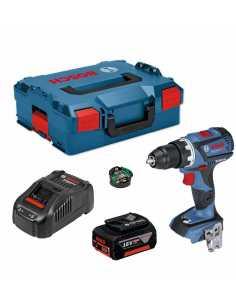 Hammer Drill BOSCH GSB 18 V-60C (1 x 5,0 Ah + GAL1880CV + L-Boxx 136)  + Connectivity Modul GCY 30-4
